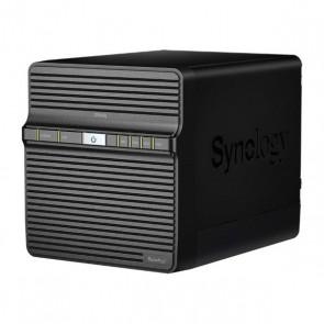 Memorizzazione in Rete NAS Synology DS420j Quad Core 1 GB RAM USB 3.0 LAN Nero