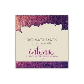 Siero Stimolante Clitorideo Intense Foil 3 ml 30 ml Intimate Earth