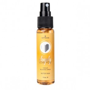 Spray Rilassante per la Gola Butter Rum Sensuva 07273