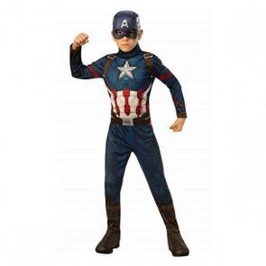 Costume per Bambini Captain America Avengers Rubies (8-10 anni)