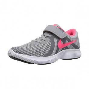 Scarpe da Running per Bambini Nike Revolution 4 Grigio Rosa