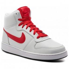 Scarpe da Basket per Adulti Nike Ebernon Mid Bianco Rosso