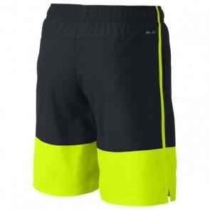 Pantaloncini Sportivi per Bambini Nike AS NIKE YA DISTANCE SHORT YTH Nero Giallo