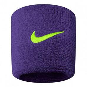 Polsino Sportivo Nike Swoosh Viola