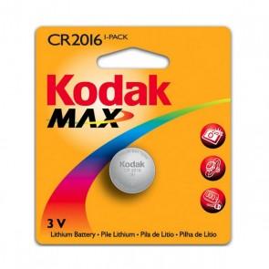 Batteria a Bottone a Litio Kodak KCR2016 3 V Argento