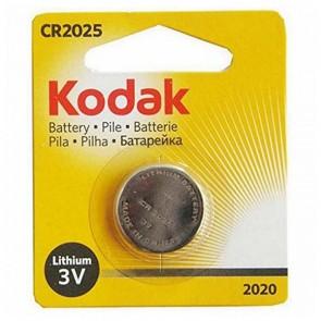 Batteria a Bottone a Litio Kodak KCR 2025 3 V Argento