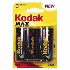 Batteria Alcalina Kodak LR20 1,5 V (2 pcs)