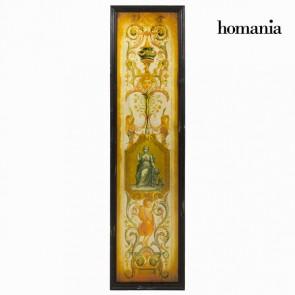 Quadro Specchio Marrone (35 x 2 x 130 cm) by Homania