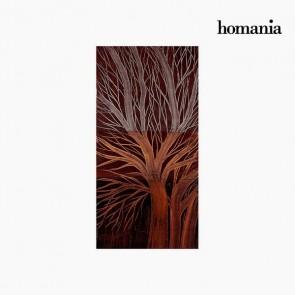 Quadro Colori Acrilici Albero (50 x 100 cm) by Homania