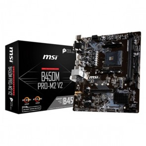 Scheda Madre Gaming MSI B450M PRO-M2 V2 mATX DDR4 AM4