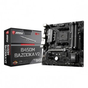 Scheda Madre Gaming MSI B450M BAZOOKA V2 mATX DDR4 AM4