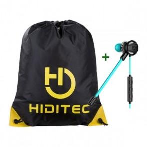 Auricolari con Microfono + Zainetto con Cordini Hiditec PAC010008