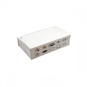 Scatola di Connessione per Lavagne Interattive Traulux AAYAPR0097 TS1770001HN HDMI VGA 3,5 mm Bianco