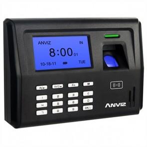 Sistema di Controllo di Accesso Biometrico POSIFLEX EP300 LCD 500 dpi Nero