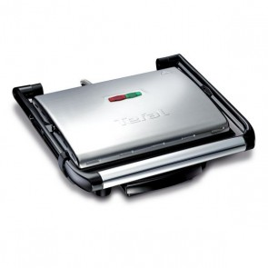 Grill Tefal GC241D 2000W Inox Nero Argento
