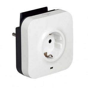 Presa Parete con 2 Porte USB Legrand 218985 USB 5V x 2 Bianco