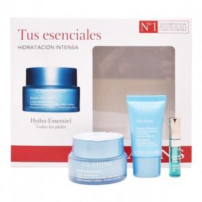 Cofanetto Cosmetica Donna Hydra Essentiel Clarins (3 pcs)