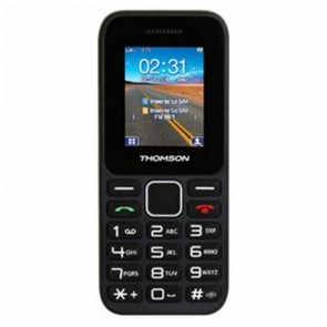 "Telefono Cellulare Thomson TLINK11BLK 1,77"" FM Bluetooth 600 mAh Nero"