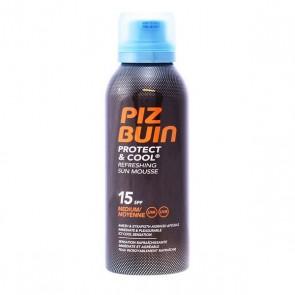 Protezione Solare Protect & Cool Piz Buin Spf 15 (150 ml)