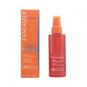 Olio Abbronzante Sun Beauty Dry Touch Lancaster SPF 50 (150 ml)