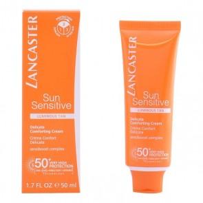 Protezione Solare Viso Sun Sensitive Lancaster Spf 50 (50 ml)