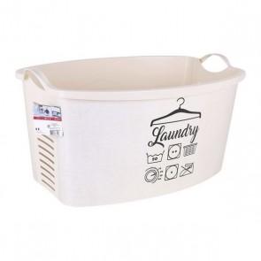 Cesto per i Panni Laundry 42 L (59 X 39 x 31 cm)