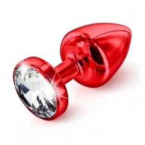 Butt Plug Anni Rotondo Rosso 25 mm Diogol 70208