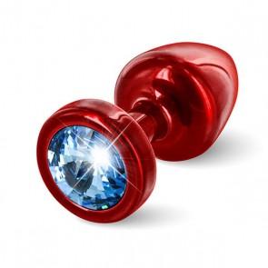 Butt Plug Tondo Anni Rosso & Blu 25 mm Diogol 72615