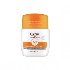 Protezione Solare Viso Sensitive Protect Eucerin Spf 50+ (50 ml)