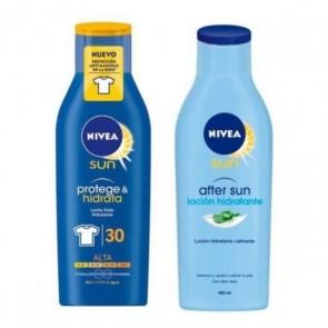 Set Protezione Solare Protege & Hidrata Nivea (2 pcs)