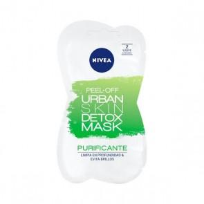 Maschera Viso Peel Off Urban Skin Detox Nivea (5 ml x 2)