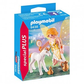 Pupazzi Special Plus - Fairy With Unicorn Playmobil 9438