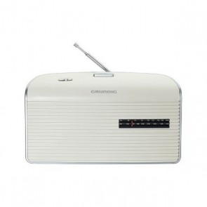 Radio Transistor Grundig MUSIC60 Bianco Argentato