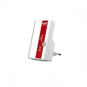 Punto d'Accesso Ripetitore Fritz! N300 300 Mbps WIFI WPS Bianco