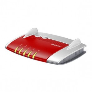 Router Senza Fili Fritz! Box4020 2,4 GHz 450 Mbps Bianco Rosso