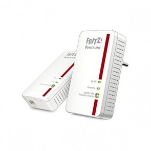 Powerline Fritz! 1240E 300 Mbps WIFI Bianco