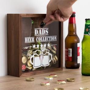 Scatola Decorativa per tappi Beer Collection