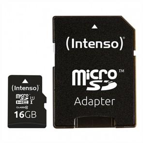 Scheda Di Memoria Micro SD con Adattatore INTENSO 34234 UHS-I Premium Nero