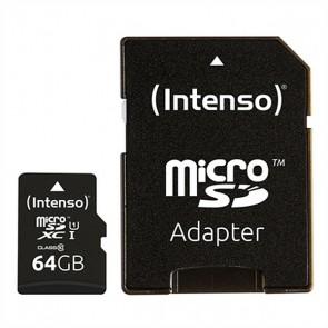Scheda Di Memoria Micro SD con Adattatore INTENSO 34234 UHS-I XC Premium Nero