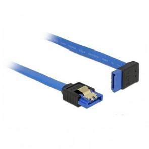Cavo SATA DELOCK 84996 30 cm Azzurro