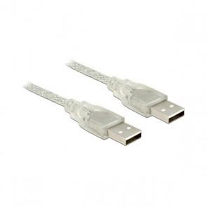 Cavo USB 2.0 DELOCK 83890 3 m Maschio a maschio Trasparente