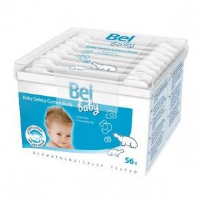 Bastoncini di Sicurezza di Cotone Baby Bel (56 uds)