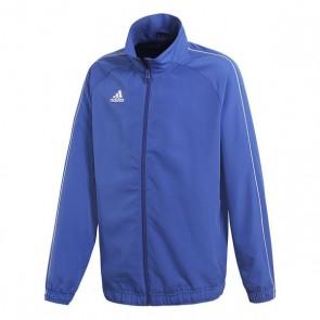 Giacca Sportiva da Bambini Adidas CORE18 PRE Azzurro