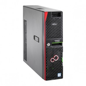 Server tower Fujitsu Primergy TX1320 Xeon® 4.3 GHz 16 GB RAM 2 TB Nero
