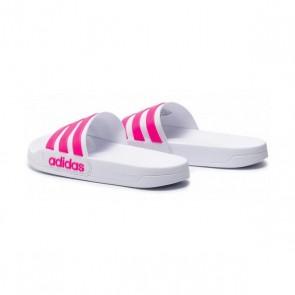 Ciabatte  da Donna Adidas Adilette Shower Bianco Rosa