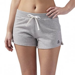 Pantaloncini Sportivi da Donna Reebok el Simple Shrt Grigio