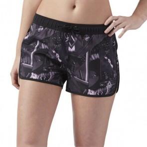 Pantaloncini Sportivi da Donna Reebok Wor Woven Wingdi Nero (Taglia 38 eu - m us)