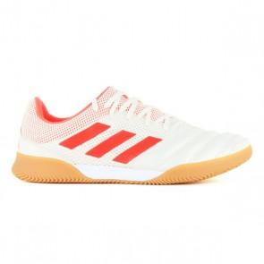 Scarpe da Calcio a 5 per Adulti Adidas Copa 19.3 In Bianco Arancio