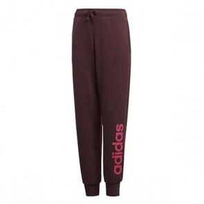 Pantalone di Tuta per Bambini Adidas YG Linear Rosso (Taglia 14-16 ann eui - 170 uk)