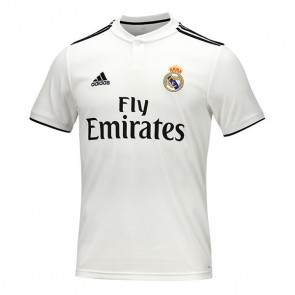 Maglia da Calcio a Maniche Corte Uomo Adidas Real Madrid Bianco 18/19 (1ª)